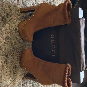 Gucci Clog Boots